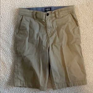 OshKosh boys school uniform khaki shorts